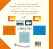 Mon journal de vacances ; un livre-activités - 4ème de couverture - Format classique