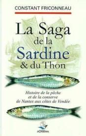 Saga de la sardine et thon (la) - Couverture - Format classique