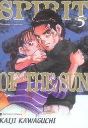 Spirit Of The Sun -Tome 05 - Intérieur - Format classique
