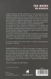 Mains Du Pianiste (Les) - 4ème de couverture - Format classique