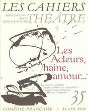 Les Cahiers Du Theatre N.35 - Intérieur - Format classique