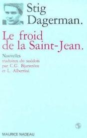 Le froid de la Saint-Jean - Couverture - Format classique