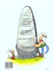 Astérix T.28 ; Astérix Chez Rahazade - 4ème de couverture - Format classique