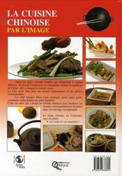 La cuisine chinoise par l'image - 4ème de couverture - Format classique
