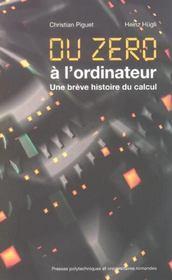 Du Zero A L'Ordinateur-Une Breve Histoire Du Calcul - Intérieur - Format classique