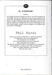 Si D'Aventure ; 4e Edition - 4ème de couverture - Format classique