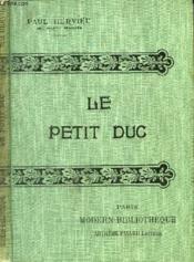 Le Petit Duc. - Couverture - Format classique
