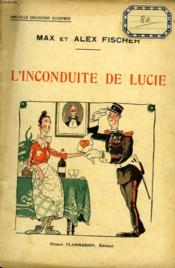 L'Inconduite De Lucie. Collection : Nouvelle Collection Illustree N° 23 - Couverture - Format classique