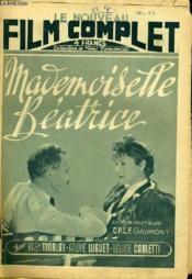 Le Nouveau Film Complet N° 7 - Mademoiselle Beatrice - Couverture - Format classique