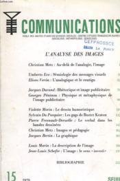 Collection - L'Analyse Des Images - Couverture - Format classique