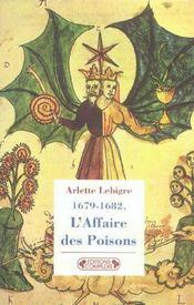 L'affaire des poisons 1679-1682 - Intérieur - Format classique