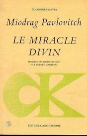 Le Miracle Divin - Couverture - Format classique