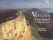 Le vercors vu d'en haut la reserve naturelle des hauts-plateaux - Intérieur - Format classique