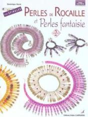 Perles de rocaille et perles fantaisie sur épingles t.2 - Couverture - Format classique