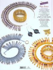 Perles de rocaille et perles fantaisie sur épingles t.2 - 4ème de couverture - Format classique