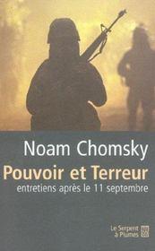 Pouvoir et terreur ; entretiens apres le 11 septembre - Intérieur - Format classique