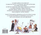 Le Mariage De A A Z ; Edition 2002 - 4ème de couverture - Format classique