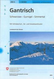 Gantrisch ski (édition 2007) - Couverture - Format classique