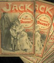 Lot De 33 Fascicules. Jack. Oeuvres Completes D'Alphonse Daudet. N° 1 Au 19. N° 9-13-14-15-16-17-18 En Double Exemplaire. N° 10-11-12 En Triple Exemplaire. - Couverture - Format classique
