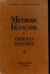 Methode Francaise & Exercices Illustres Ii - Couverture - Format classique