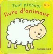 Tout premier livre d'animaux - Intérieur - Format classique