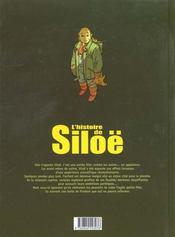 L'histoire de Siloë t.1 ; psybombe - 4ème de couverture - Format classique