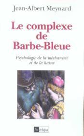 Le complexe de barbe-bleue - Couverture - Format classique