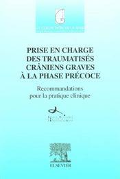 Prise En Charge Des Traumatises Craniens Graves A La Phase Precoce - Sfar - Intérieur - Format classique