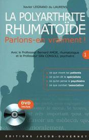 La polyarthrite rhumatoïde - Couverture - Format classique