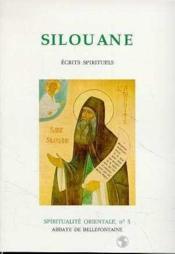 Spiritualité orientale t.5 ; Silouane - Couverture - Format classique
