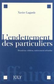 Endettement Des Particuliers (L') - Intérieur - Format classique