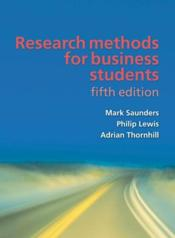 Vente  Research methods for business (5e édition)  - Lewis Adrian