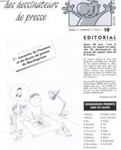 Gros Nez Magazine N°8 - Le Journal Des Dessinateurs De Presse - Couverture - Format classique