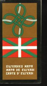 Carte D'Euskadi - Couverture - Format classique