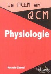 Physiologie - Intérieur - Format classique