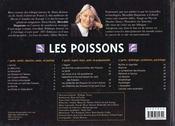 Les Poissons - 4ème de couverture - Format classique
