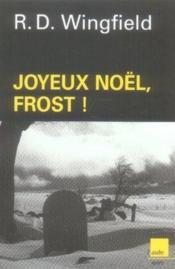 Joyeux noël, frost ! - Couverture - Format classique