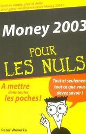 Money 2003 pour les nuls (édition 2003) - Intérieur - Format classique