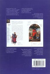 Les saints ; guide iconographique - 4ème de couverture - Format classique