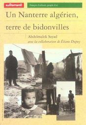 Un Nanterre Algerien, Terre De Bidonvill - Intérieur - Format classique