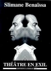 Theatre En Exil - Couverture - Format classique