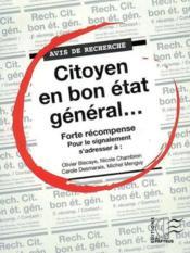 Attention ! citoyens en vue... - Couverture - Format classique