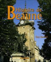 Histoire de Beaune - Couverture - Format classique