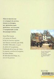 Peintres Des Cotes De Bretagne - 4ème de couverture - Format classique