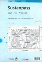 Sustenpass Ski - 4ème de couverture - Format classique