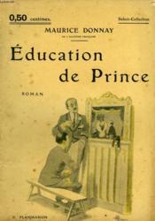 Education De Prince. Collection : Select Collection N° 40 - Couverture - Format classique
