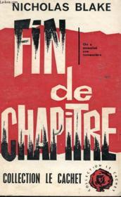 Fin De Chapitre - Couverture - Format classique