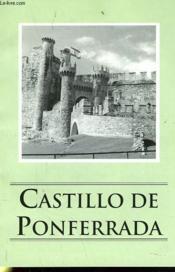 Castillo De Ponferrada - Couverture - Format classique