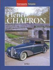 Henri Chapron - Intérieur - Format classique