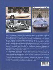 Henri Chapron - 4ème de couverture - Format classique